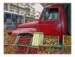 Uruguay Truck with Produce Posters