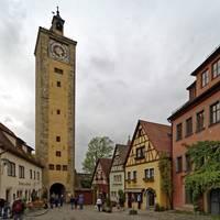 Rothenburg ob der Tauber 32crop by Priscilla Turner