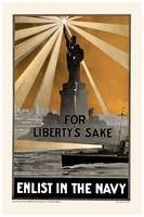 Enlist in the Navy for Liberty's Sake