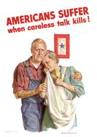 Americans Suffer When Careless Talk Kills!