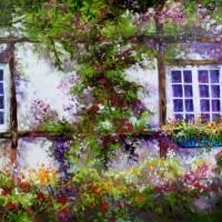 ENGLISH GARDEN by Marcia Baldwin