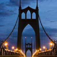 """""""St Johns Bridge"""" by tarbyssisimages"""