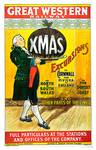 Great Western Railway ~ Vintage 1903 Christmas Exc Posters