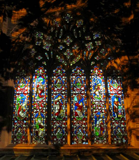 Stained Glass Window Christ Church Cathedral )1(