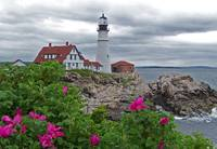 Maine's Famous View Portland Headlight Lighthouse