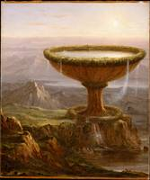 The Titan's Goblet by Thomas Cole