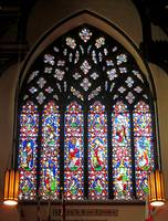 West Stained Glass Window Christ Church Cathedral