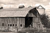 Old Boulder County Colorado Weathered Barn