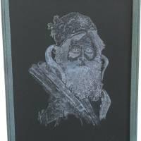 Ol' Saint Nick_original Art Prints & Posters by Crist A. Stringfellow