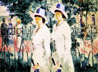 The Sisters by Kazimir Malevich