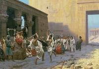 The Sword Dance (La Phyrique) by Jean Leon Gerome