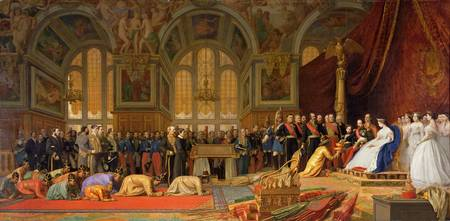 Reception of Ambassadors by Jean Leon Gerome