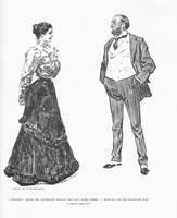 Gibson Girl 6 Father and Daughter