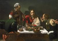 The Supper at Emmaus by Caravaggio