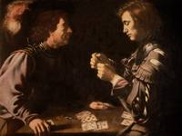 The Gamblers by Caravaggio