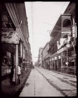 Royal and Canal Street, New Orleans c1900