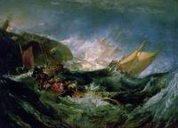Wreck of a Transport Ship by Joseph Turner