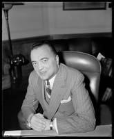J. Edgar Hoover, Dir. of FBI, Dept. of Justice, Ap by WorldWide Archive