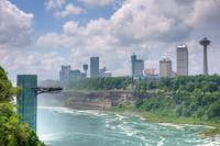 Over the Niagara