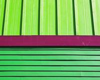 colorful pattern of building side
