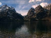 Mountains and Lake