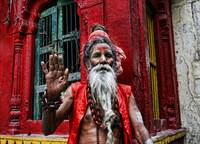The Old Sadhu...