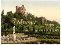 Drummond Castle from S.W. (i.e., Southwest), Scotl