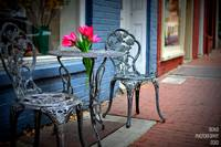 Sidewalk Cafe in Fredericksburg, Virginia