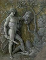 David with the head of Goliath by Andrea Mantegna