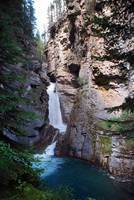 Johnston Canyon Lower Falls Banff National Park Al