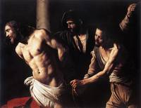 Caravaggio-Christ_at_the_Column,c1607