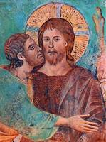 Cimabue,Giovanni-The Capture of Christ,detail,nd