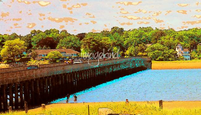 Powder Point Bridge Duxbury MA