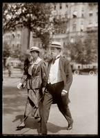 Justice Hughes with Daughter Katherine 1917 by WorldWide Archive