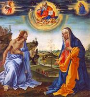 The Intervention of Christ and Mary