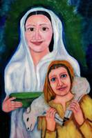 mary and child jesus
