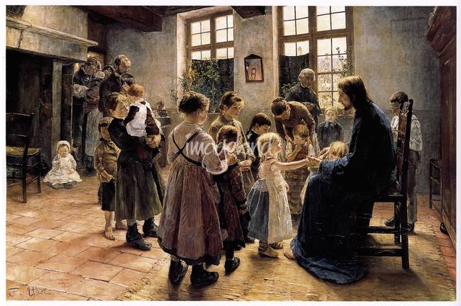 Let the Children come to Me )1884(