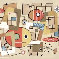Miro a Go-Go! Art Prints & Posters by Cozmo Luna