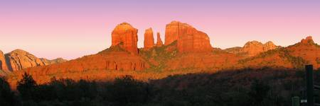 Cathedral Rock Sedona Panorama