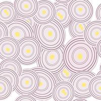Onion slices background