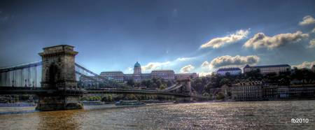 Budapest view HDR