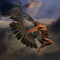 """male angel"" by Antinopolis"