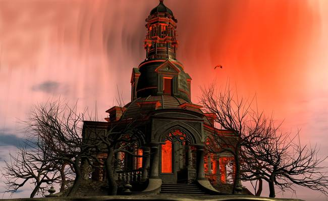 Gothic Tower By Antinopolis