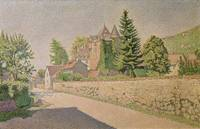 Chateau de Comblat by Paul Signac