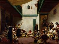 A Jewish Wedding in Morocco by Ferdinand Delacroix