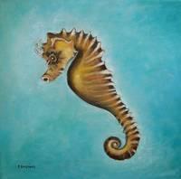 seahorse - sebastian by tracie brown