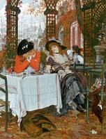 A Luncheon by James Jacques Joseph Tissot