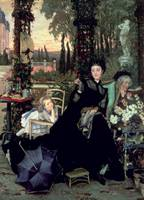 The Widow by James Jacques Joseph Tissot
