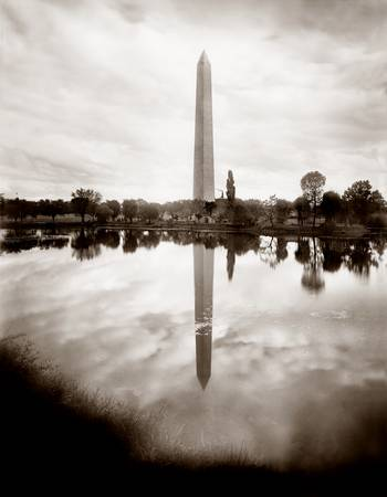 Washington Monument in Reflecting Pool