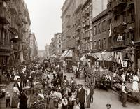 Mulberry Street c1900 by WorldWide Archive